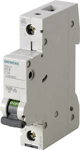 Siemens 5SL4104-6 Vezeték védőkapcsoló 1 pólusú 4 A 230 V, 400 V Siemens