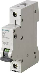 Siemens 5SL4113-7 Vezeték védőkapcsoló 1 pólusú 13 A 230 V, 400 V Siemens