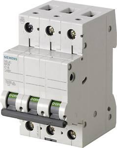 Siemens 5SL4305-8 Vezeték védőkapcsoló 3 pólusú 0.5 A 400 V Siemens