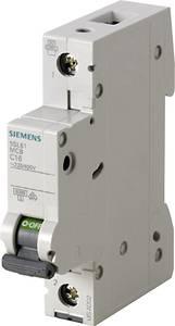 Siemens 5SL6163-6 Vezeték védőkapcsoló 1 pólusú 63 A 230 V, 400 V Siemens