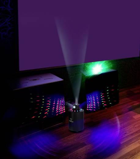 Forgófejes lézer fényeffekt, diszkó lézer piros és zöld színnel Renkforce renkforce GLP-FS360 3D