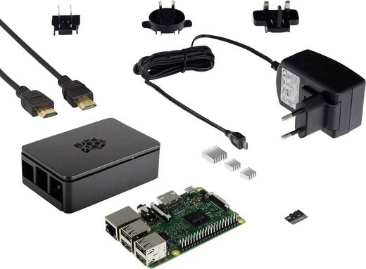 Raspberry Pi® 3 B modell, Advanced készlet 1 GB
