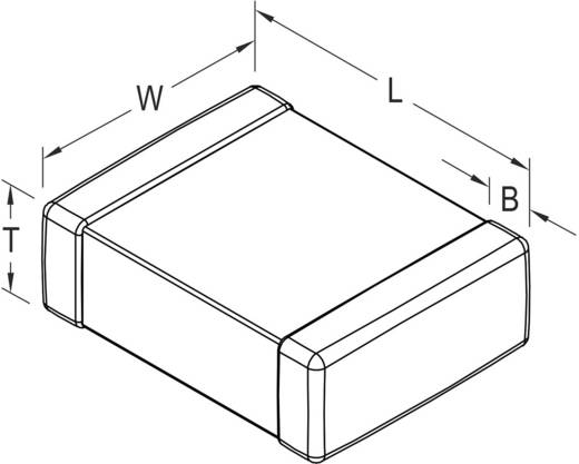 Kerámia kondenzátor SMD 0805 4.7 µF 10 V 10 % (H x Sz x Ma) 2 x 0.5 x 1.25 mm Kemet C0805C475K8PAC7800+ 1 db