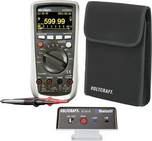 Digitális True RMS multiméter OLED kijelzővel, VC810 Bluetooth adapterrel készletben Voltcraft VC890OLED+VC810 VOLTCRAFT