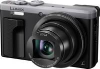 Panasonic DMC-TZ81EG-S Digitális kamera 18 MPix Optikai zoom: 30 x Ezüst-fekete WiFi, Full HD video, Érintőkijelző Panasonic