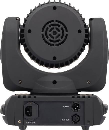 LED-es effektsugárzó, forgófejes robotlámpa 7 x 12 W Renkforce GM177