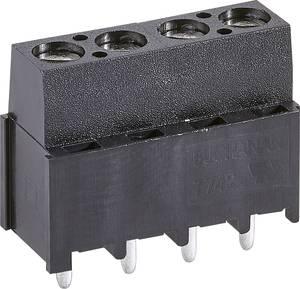 TE Connectivity 796949-3 Csavaros kapocstömb 3 mm² Pólusszám 3 Fekete 1 db TE Connectivity
