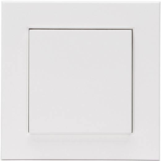Vezeték nélküli fali kapcsoló, Kopp FreeControl® 1/2, tiszta fehér, HK 07823102020