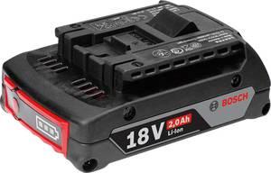 Bosch Professional GBA 18 V 1600Z00036 Szerszám akku 18 V 2 Ah Lítiumion (1600Z00036) Bosch Professional