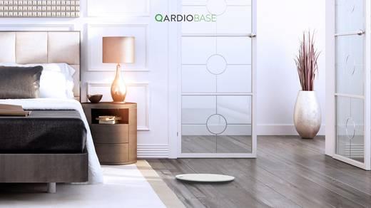 Testzsíranalizáló mérleg, személymérleg bluetooth funkcióval max.180 kg-ig, fehér színű QardioBase B100-IOW