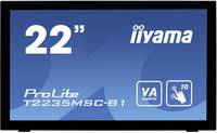 """Iiyama T2235MSC-B1 Érintőképernyős monitor 54.6 cm (21.5 """") 1920 x 1080 pixel 16:9 6 ms USB, VGA, DVI, Kijelző csatlako Iiyama"""