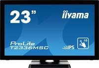 Iiyama ProLite T2336MSC Érintőképernyős monitor 58.4 cm (23 coll) 1920 x 1080 pixel 16:9 5 ms USB 3.2 (1. generáció) ( Iiyama