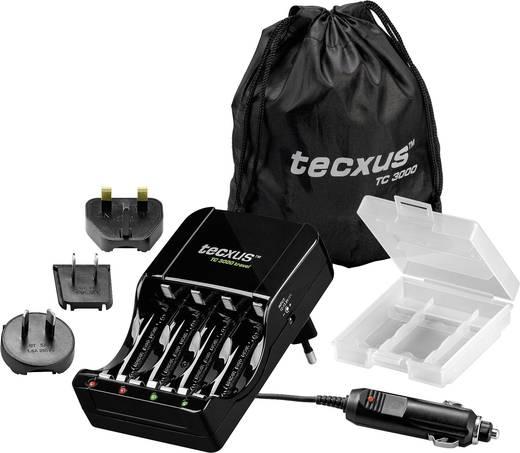 Processzoros akkutöltő ceruza, mikroceruza, AA, AAA, akkukhoz Tecxus TC 3000