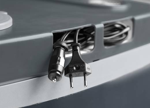 Szivargyújtós autós, elektromos hűtőláda 12V/230V 34L-es húzható gurulós MobiCool Trolley G35 AC/DC