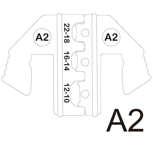 Krimpelő betét szigetelt dugaszolt csatlakozókhoz 0.5 - 6 mm² TOOLCRAFT 1423367
