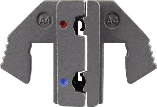 Krimpelő betét szigetelt laposérintkezős hüvelyekhez, hajlított, 0.5 - 2.5 mm² TOOLCRAFT 1423369