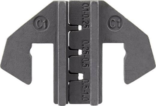 Krimpelő betét lapos dugókhoz, 0.1 - 1 mm² TOOLCRAFT 1423390