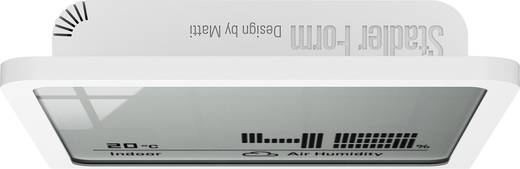 Digitális hőmérő és páratartalom mérő, fehér, Stadler Form 14868