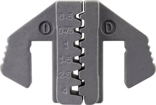 Krimpelő betét érvéghüvely krimpeléshez 0.5 - 4 mm² TOOLCRAFT 1423395