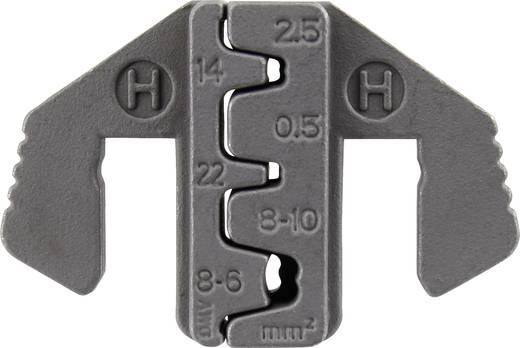 Krimpelő betét lapos dugóhoz, D-Sub dugóhoz 2.5 - 10 mm² TOOLCRAFT 1423407