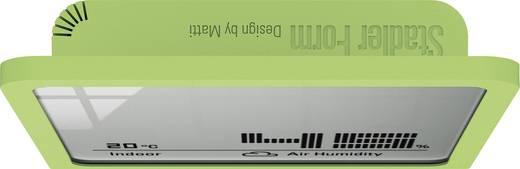 Digitális hőmérő és páratartalom mérő, zöld, Stadler Form 15734