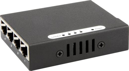 Hálózati switch, RJ45 USB tápellátással 4 port 1 Gbit/s, renkforce