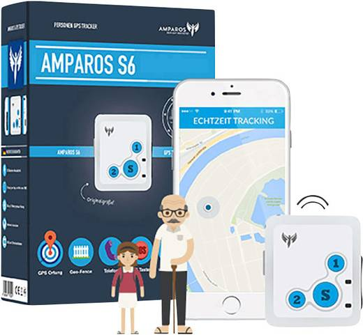 GPS adatgyűjtő, személyi nyomkövető, Amparos S6