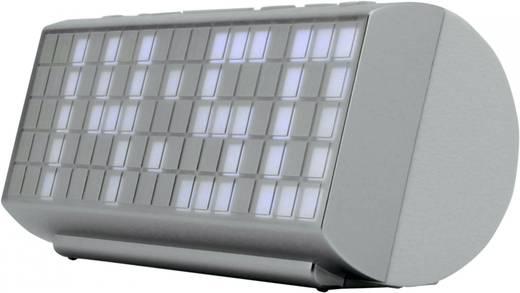 Nagykijelzős digitális ébresztőóra, rádiós ébresztőóra, fehér színű SoundMaster UR200WE