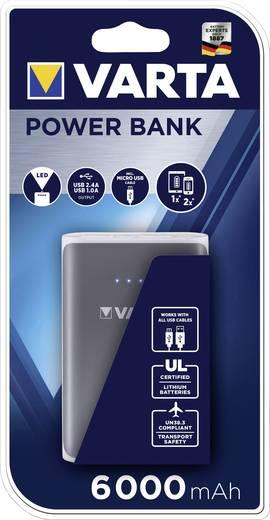 Powerbank, mobil akku, 6000 mAh, Varta Powerpack Family