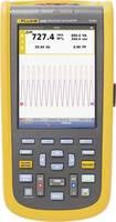 Fluke 125B/EU Kézi oszcilloszkóp (scope-meter) 40 MHz 2 csatornás 4 GSa/mp Multiméter funkciók Fluke