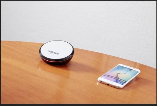 Indukciós telefontöltő, vezeték nélküli okostelefon és tablet töltő Voltcraft Qi-400