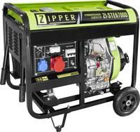 Zipper ZI-STE6700D Dízelmotor Áramfejlesztő 5.7 kW 123 kg Zipper