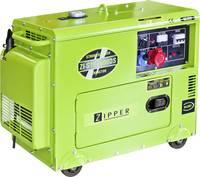 Zipper ZI-STE7500DS Dízelmotor Áramfejlesztő 5.7 kW 162 kg Zipper