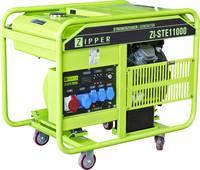 Zipper ZI-STE11000 4 ütemű motor Áramfejlesztő 12 kW 185 kg Zipper