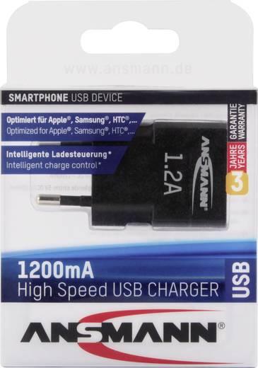 Hálózati USB-s töltő, max. 1200 mA, Ansmann 1001-0030