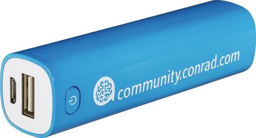 Powerbank, lítiumion 2600 mAh, VOLTCRAFT Conrad community
