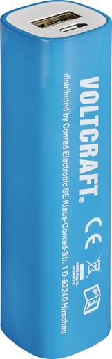 Powerbank, lítiumion 2600 mAh, VOLTCRAFT Conrad community