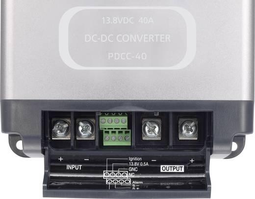24V/12V DC feszültség átalakító konverter 40A 19 - 33V/DC 600W VOLTCRAFT PDCC-40