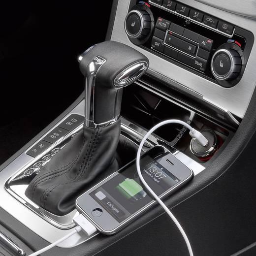 Szivargyújtós USB töltő, univerzális csatlakozókkal, max. 1200 mA, Wentronic 63416