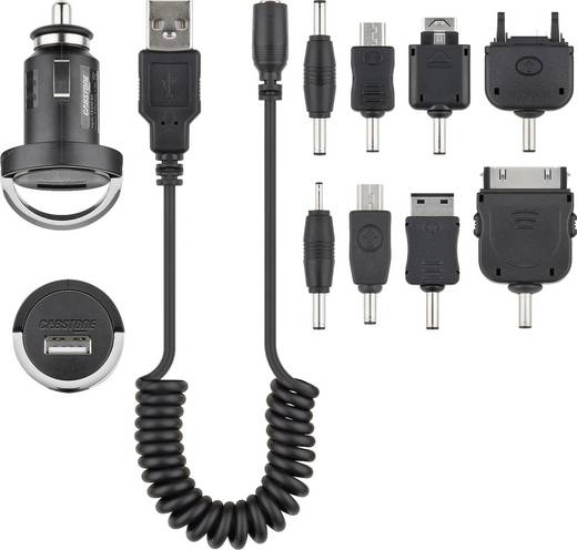 Szivargyújtó USB töltőkészlet 12V-24/5V (max.) 1200 mA Cabstone 63416