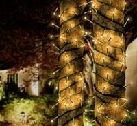 Karácsonyi LED fényfüzér kültéri, beltéri, melegfehér színű 50 LED-es 5m Polarlite Combine & Shine DIY-04-004T (DIY-04-004T) Polarlite