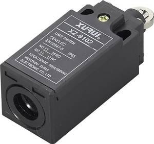 Végálláskapcsoló, 250 V/AC, 10A , hengeres dugattyú, Tru Components XZ-9/102 IP65 TRU COMPONENTS