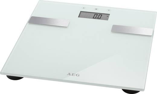 Testanalizáló személymérleg, max. 180 kg, fehér, AEG PW 5644 FA