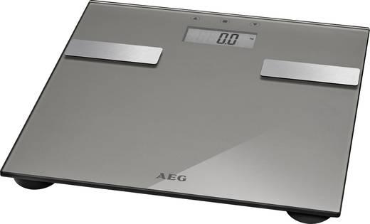 Testanalizáló személymérleg, max. 180 kg, titán, AEG PW 5644 FA