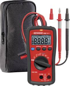 Benning MM 5-1 Kézi multiméter digitális CAT III 600 V, CAT IV 300 V Kijelző (digitek): 6000 Benning