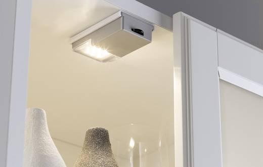 LED-es bútormegvilágító lámpa görgős kapcsolóval, 0,33 W, melegfehér/ezüst, Paulmann 70498 SnapLED