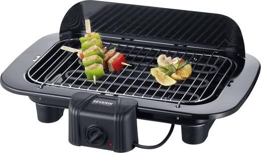 Asztali elektromos grillsütő szélvédővel, manuális hőmérséklet beállítással Severin PG 8526