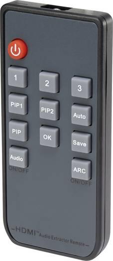3 portos HDMI switch kép a képben funkcióval, távirányítóval, 3840 x 2160 pixel, SpeaKa Professional
