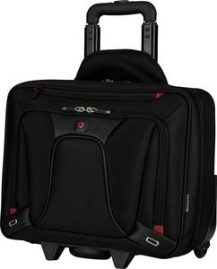 "Notebook táska, koffer, gurulós, max. 39,6 cm (15,6"") fekete, Wenger Koffer Transfer Wheeled Business Case Wenger"