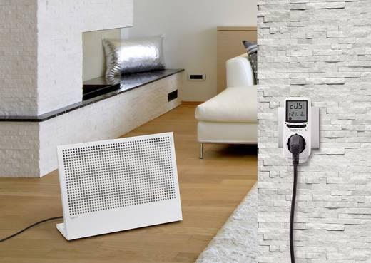 Konnektoros termosztát, digitális, 5...35 °C, Sygonix MH-912